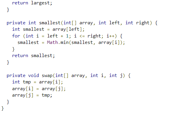 Largest And Smallest · leetcode